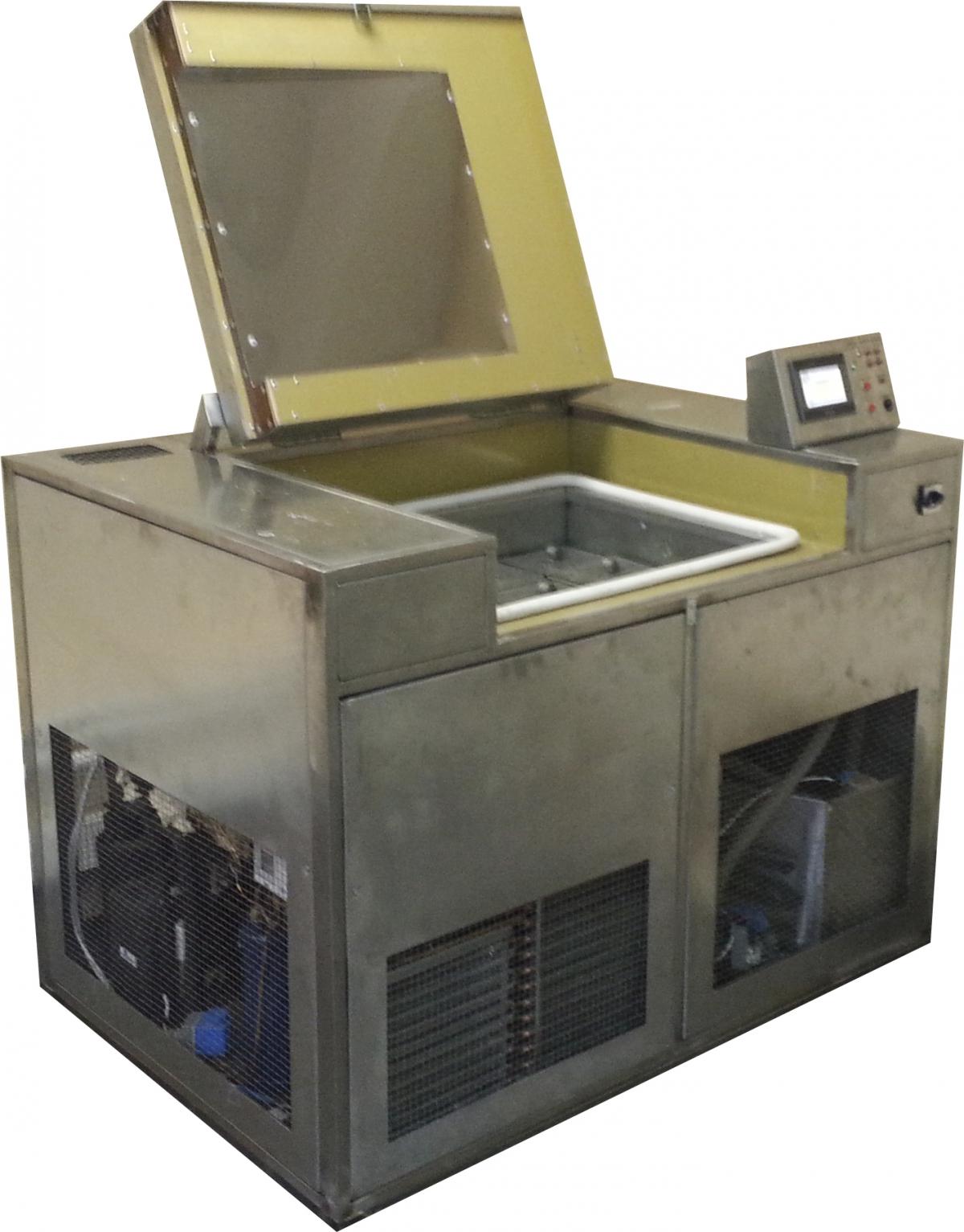 Испытание бетона на морозостойкость