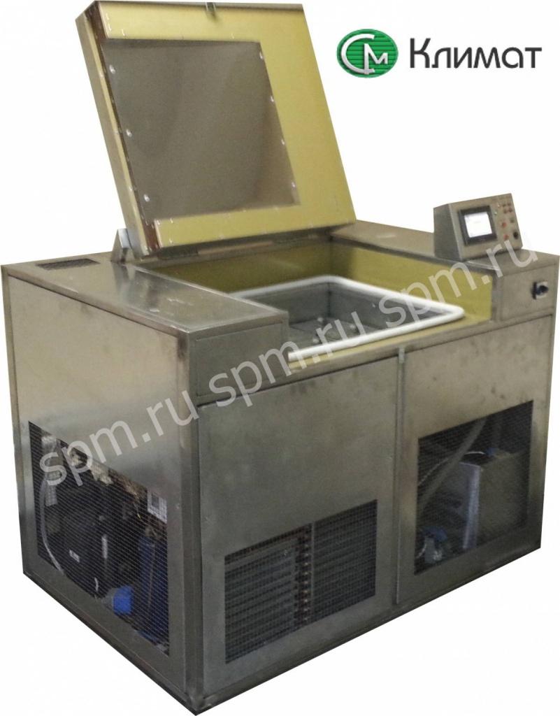 морозильная камера для определения морозостойкости бетона так же